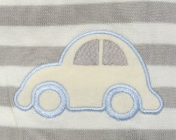 Snuggle Baby, Baby Wrap - Stripe with Car