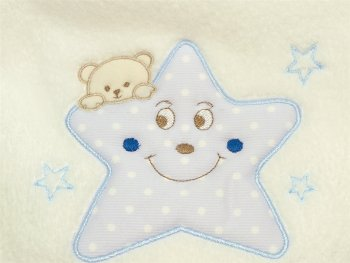Star & Bear Fleece Blanket