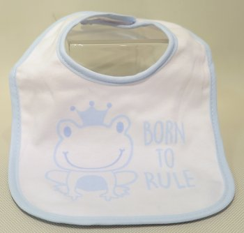 Baby Boy Bibs - Pack of 3