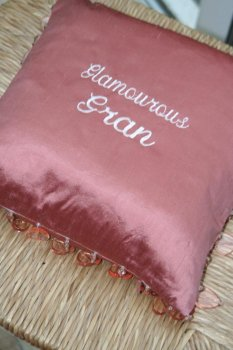 Heart Tassle Cushion
