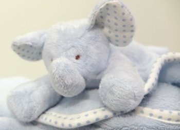 Personalised baby gifts embroidered giftware by top stitch elephant blanket negle Gallery