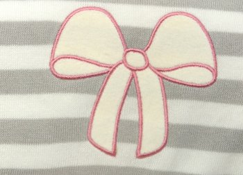 Snuggle Baby, Baby Wrap - Stripe with Bow