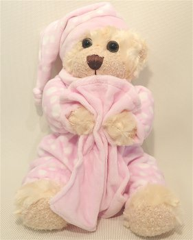 Sleepy Bear Pink
