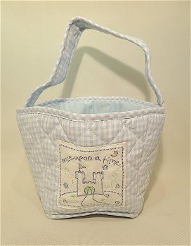 Once Upon a Time - Small Toy Bag Blue