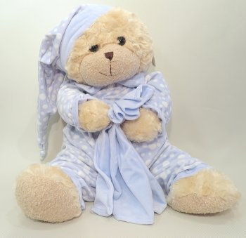 Sleepy Bear Blue