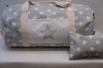 Star Print Weekend Bag