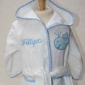 7148985135 Bath Robes Personalised baby robes are a fantastic gift